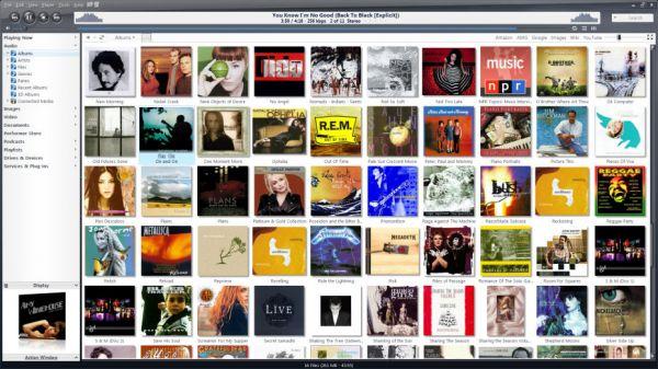 JRiver MC Audio View