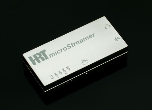 HRT microstreamer main view